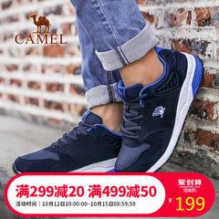 CAMEL駱駝情侶款越野跑鞋 情侶款透氣緩震防滑運動鞋舒適低幫跑鞋