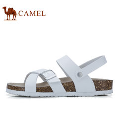 camel骆驼男鞋 户外休闲鞋 2017夏季新款男凉鞋日常休闲凉拖鞋
