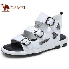 Camel/骆驼男鞋2017夏季新品时尚休闲凉鞋舒适透气户外沙滩鞋凉鞋