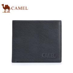 Camel/骆驼钱包男士横款钱夹轻柔牛皮男钱包青年卡包