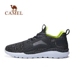【2017新品】骆驼男款运动鞋跑步鞋高透气轻盈脚感时尚低帮运动鞋