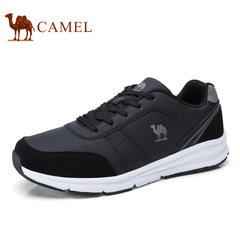 Camel/骆驼男鞋2017秋季新品健步鞋时尚运动鞋缓震休闲鞋轻盈跑鞋