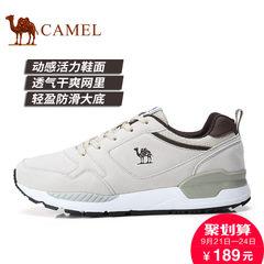 Camel/骆驼男女鞋2017秋季新品户外鞋运动休闲鞋情侣鞋跑步鞋