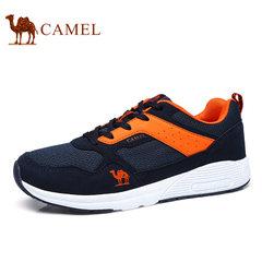 Camel/骆驼男鞋2017秋季新品时尚运动透气休闲轻盈情侣跑鞋潮流鞋