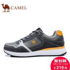Camel骆驼男鞋2017秋季新品低帮鞋户外鞋时尚运动休闲男鞋