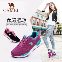 Camel骆驼女鞋2017秋季新品户外鞋女运动休闲鞋跑鞋女款鞋