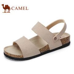 Camel/骆驼男鞋 2017夏季新款 日常休闲 简约百搭舒适耐穿男凉鞋