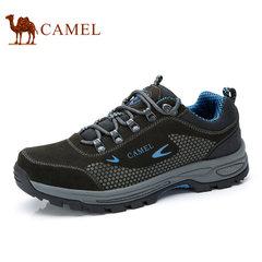 CAMEL/骆驼男鞋2017新品户外休闲运动鞋男士登山鞋防滑健步旅游鞋