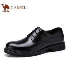 Camel/骆驼男鞋2017新款低帮鞋商务正装鞋真皮防滑耐磨休闲皮鞋