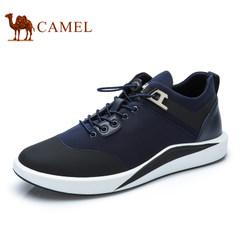 Camel/骆驼男鞋2017 新款时尚休闲低帮男鞋松紧带休闲跑步鞋男