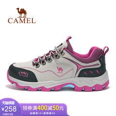 yabo sports app户外女款徒步鞋  舒适户外运动女鞋防滑低帮系带女款徒步鞋女