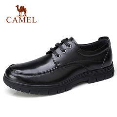 Camel/骆驼男鞋2017秋季新品商务休闲低帮皮鞋通勤休闲防滑皮鞋