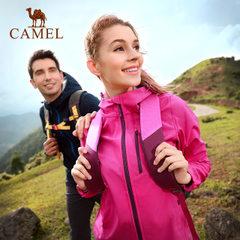 CAMEL/骆驼户外情侣款软壳衣 防风保暖男女款软壳衣外套