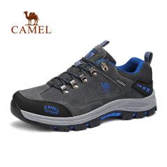 【2017新品】CAMEL骆驼户外男女徒步鞋 情侣款防滑低帮户外徒步鞋