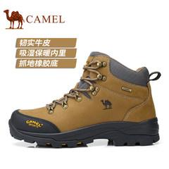 【2017新品】CAMEL骆驼户外情侣徒步鞋登山防滑减震耐磨户外鞋