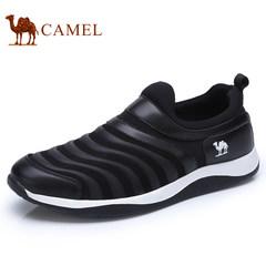 CAMEL骆驼男鞋2017秋季新品缓震运动鞋透气跑步鞋休闲鞋毛毛虫鞋