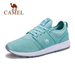 Camel/骆驼女鞋 2017秋情侣运动鞋男女透气防滑休闲鞋耐磨跑步鞋