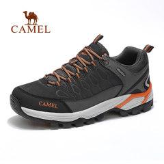 骆驼户外徒步鞋男士运动鞋冬季耐磨防滑减震低帮时尚登山鞋旅游鞋