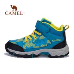 CAMEL 骆驼童鞋冬季中大童运动鞋 儿童高帮保暖毛里休闲舒适鞋子