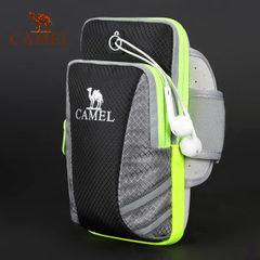 CAMEL駱駝戶外情侶款手機臂包 男女跑步運動健身臂帶手包手機臂套