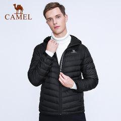 CAMEL/骆驼户外运动男款羽绒服个性休闲耐磨弹性轻薄舒适羽绒外套