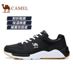 Camel/骆驼男鞋2017秋季新品时尚运动鞋透气休闲鞋跑鞋潮流鞋子男