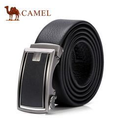 Camel骆驼男士牛皮皮带中青年休闲商务裤带男版自动扣潮流腰带男