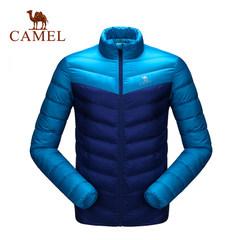CAMEL骆驼运动羽绒服男款防风保暖羽绒服 舒适时尚立领羽绒服外套