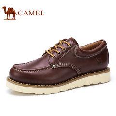 Camel/骆驼男鞋秋季工装男鞋时尚舒适牛皮男士休闲鞋
