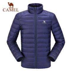 CAMEL/骆驼户外羽绒服 男女秋冬短款轻薄羽绒外套保暖加厚羽绒衣