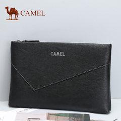 Camel/骆驼男包新款男士牛皮手拿包横款钱包青年商务信封手抓包