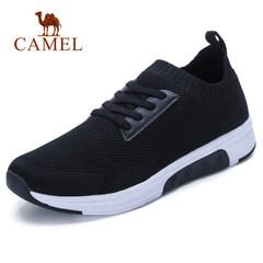 Camel/骆驼男鞋2018春季潮流新品轻便透气潮鞋子男袜套前卫运动鞋