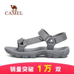 骆驼户外情侣沙滩鞋 夏季软底厚底海边凉拖防滑透气耐磨男女凉鞋