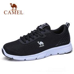 Camel/骆驼男鞋2018春季新品运动休闲鞋韩版潮流百搭网面鞋跑步鞋