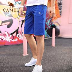 CAMEL骆驼休闲运动男裤春夏舒适透气干爽宽松跑步健身运动五分裤