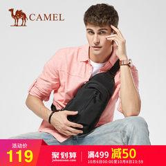 骆驼正品男包新款男士胸包时尚休闲单肩斜挎背包帆布胸前包包男