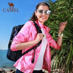CAMEL骆驼防晒衣女款 防紫外线夏季户外运动风衣皮肤衣防晒服女款