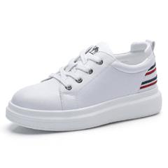 骆驼2018秋季新款内增高厚底小白鞋女平底鞋子运动板鞋街拍休闲鞋