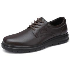 骆驼男鞋2018秋季新款皮鞋商务真皮休闲皮鞋办公鞋国民男鞋爸爸鞋