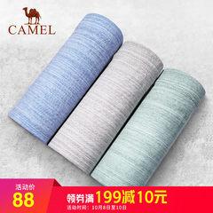 Camel/骆驼男士夏季新款内裤平角裤纯棉四角裤透气柔软舒适
