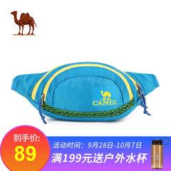 骆驼户外四季腰包 2L男女款旅行出游运动休闲多功能时尚腰包