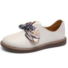 骆驼2018秋季新款女鞋网红单鞋仙女鞋子休闲鞋ins软妹小皮鞋复古