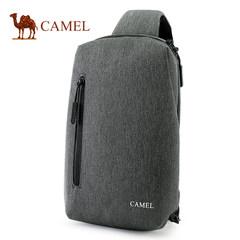 骆驼男士胸包单肩斜挎包男士新款休闲背包男女运动斜跨胸前包正品