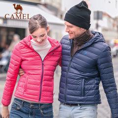 CAMEL骆驼户外羽绒服 男女情侣款防风保暖轻薄羽绒服秋冬保暖外套