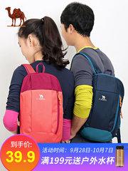 【2018新品】 骆驼双肩背包男女户外 学生时尚潮流简约运动小书包