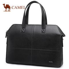 骆驼男包新款公文包男横款单肩包休闲斜挎包包潮大容量商务手提包