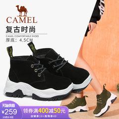 yabo sports app女鞋2018冬季新款休闲潮流舒适复古时尚运动质感女单鞋