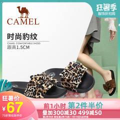 骆驼女鞋 2019夏季新款 时尚舒适 凉拖女