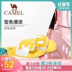 Camel/骆驼2019夏季新款 摩登之选 有型有格 凉拖女