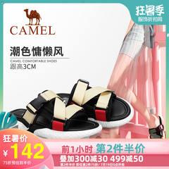 女鞋 2019春季新款 靓丽撞色 潮美舒适 时尚Camel/骆驼 A92275654